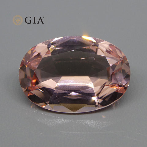 13.34ct Oval Morganite GIA Certified