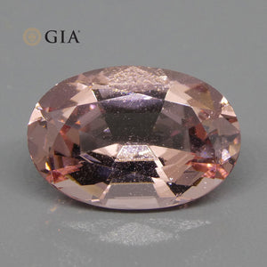 Morganite 8.59 cts 16.95 x 11.62 x 7.83 mm Oval Orange-Pink  $1890