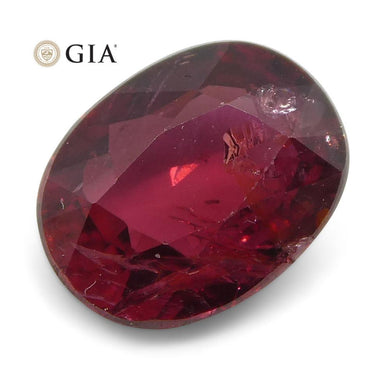 Ruby 1.02 cts 6.91 x 5.33 x 3.05 mm Oval Red  $1000