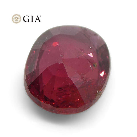 1.02 ct Oval Ruby GIA Certified Madagascar Unheated