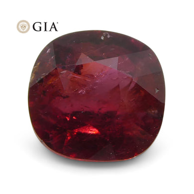 Ruby 0.95 cts 5.90 x 5.65 x 3.11 mm Cushion Red  $1800
