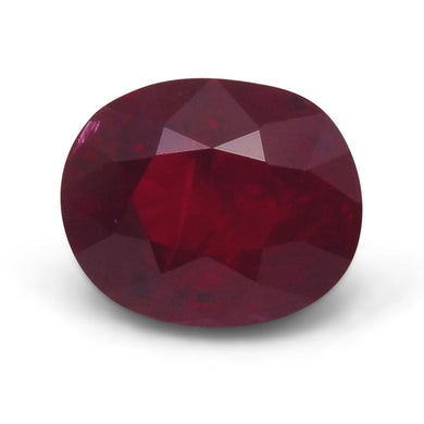GIA Certified Ruby 1.51 7.13 x 5.84 x 4.07 Oval Red 2193229448 1280