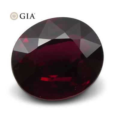 2.08 ct GIA Certified Unheated Red Ruby - Skyjems Wholesale Gemstones