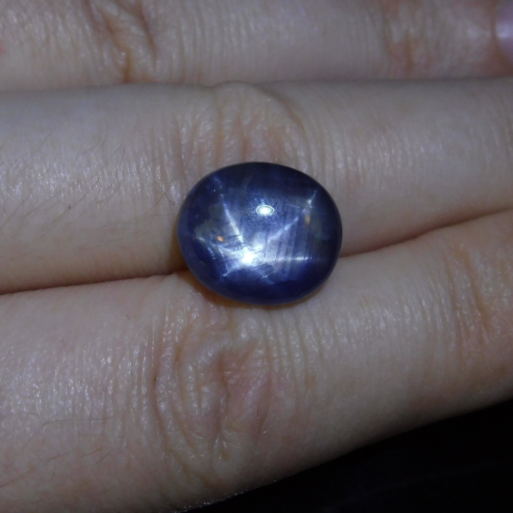 with tw yellow blue ring sapphire diamonds in gold estate star
