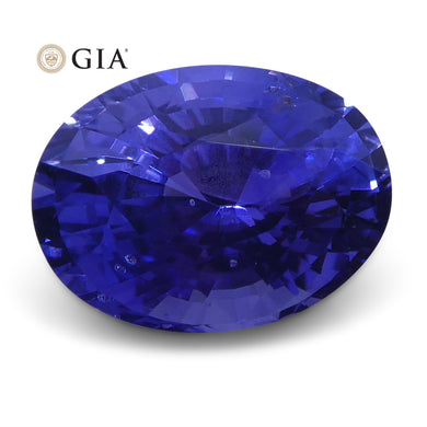 1.63 ct Color Change Sapphire Oval GIA Certified Unheated, Sri Lanka - Skyjems Wholesale Gemstones