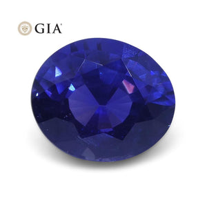 1.80 ct Color Change Sapphire Oval GIA Certified Unheated, Burmese - Skyjems Wholesale Gemstones
