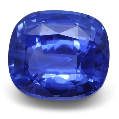 Blue Sapphire 3.01 cts 8.25x7.35x5.02mm Cushion Blue  $8100