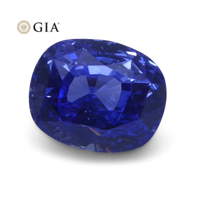 1.63 ct Blue Sapphire Cushion GIA Certified Unheated, Sri Lanka - Skyjems Wholesale Gemstones