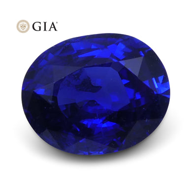 1.18 ct Blue Sapphire Oval GIA Certified - Skyjems Wholesale Gemstones
