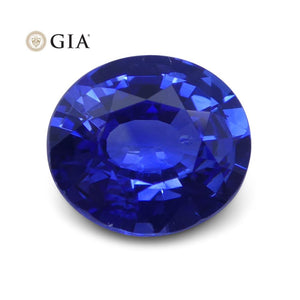 1.47 ct Blue Sapphire Oval GIA Certified Sri Lanka - Skyjems Wholesale Gemstones