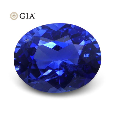 1.21 ct Blue Sapphire Oval GIA Certified Sri Lanka - Skyjems Wholesale Gemstones