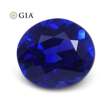 1.10 ct Blue Sapphire Oval GIA Certified Sri Lanka - Skyjems Wholesale Gemstones