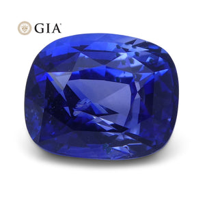 2.58 ct Blue Sapphire Cushion GIA Certified Sri Lanka - Skyjems Wholesale Gemstones