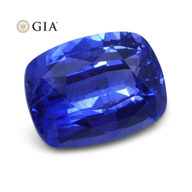 2.56 ct Blue Sapphire Cushion GIA Certified Sri Lanka - Skyjems Wholesale Gemstones