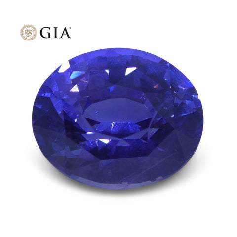 2.16 ct Color Change Sapphire Oval GIA Certified Unheated, Sri Lanka