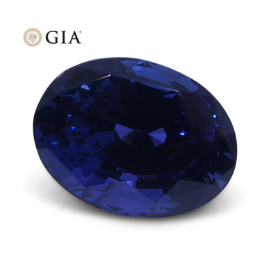 2.66 ct Color Change Sapphire Oval GIA Certified Unheated - Skyjems Wholesale Gemstones