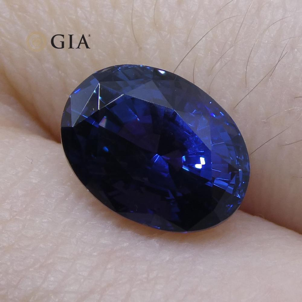 2.66 ct Color Change Sapphire Oval GIA Certified Unheated