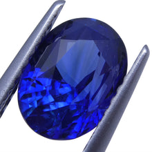 2.28 ct Blue Sapphire Oval GIA Certified