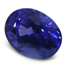 2.85 ct Color Change Sapphire Oval GIA Certified Sri Lanka