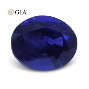 2.30 ct Color Change Sapphire Oval GIA Certified Unheated, Burmese - Skyjems Wholesale Gemstones