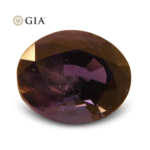 2.30 ct Vivid Color Change Sapphire Oval GIA Certified Unheated, Burmese