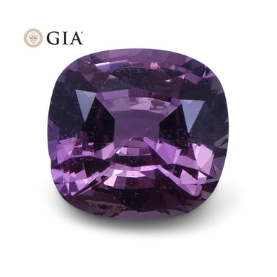 1.38 ct Pink Sapphire Cushion GIA Certified Unheated - Skyjems Wholesale Gemstones