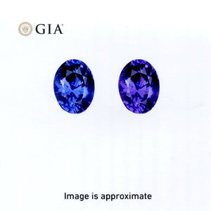 1.69 ct Color Change Sapphire Oval GIA Certified Unheated, Sri Lanka - Skyjems Wholesale Gemstones