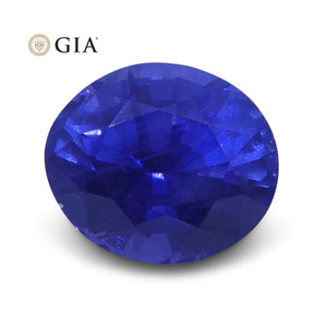 1.22 ct Color Change Sapphire Oval GIA Certified Unheated, Sri Lanka - Skyjems Wholesale Gemstones