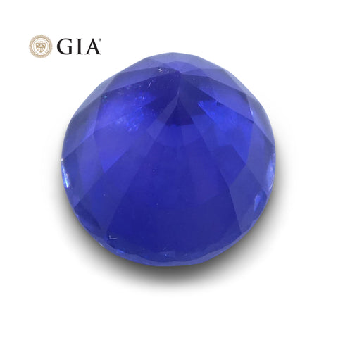 1.22 ct Color Change Sapphire Oval GIA Certified Unheated, Sri Lanka