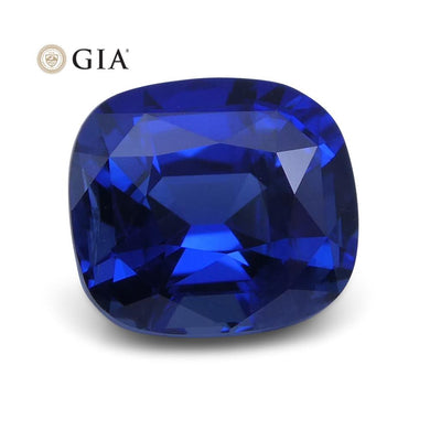 1.86 ct Blue Sapphire Cushion GIA Certified Ethiopian - Skyjems Wholesale Gemstones