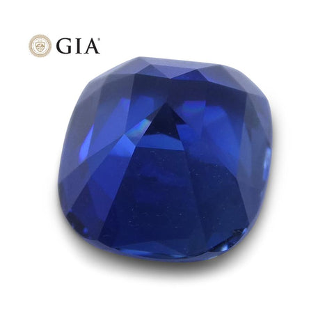 1.86 ct Blue Sapphire Cushion GIA Certified Ethiopian
