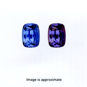 3.16 ct Color Change Sapphire Cushion GIA Certified Unheated, Sri Lanka