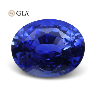2.13 ct Blue Sapphire Oval GIA Certified Sri Lanka - Skyjems Wholesale Gemstones