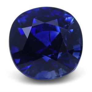 Blue Sapphire 1.59 cts 6.27x6.24x4.95mm Cushion Blue  $3498