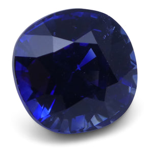 1.59 ct Blue Sapphire Cushion GIA Certified Unheated