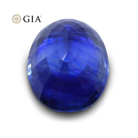 1.37 ct Blue Sapphire Oval GIA Certified