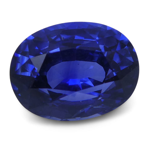 1.22 ct Blue Sapphire Oval GIA Certified Unheated