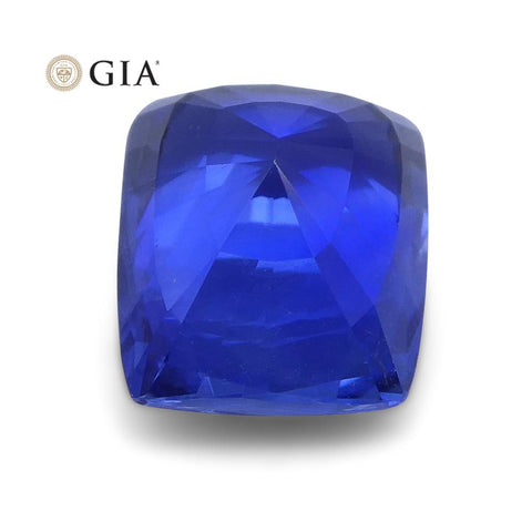 1.50 ct Blue Sapphire Cushion GIA Certified Unheated, Sri Lanka
