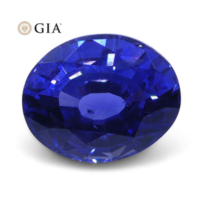 1.40 ct Color Change Sapphire Oval GIA Certified Unheated, Sri Lanka - Skyjems Wholesale Gemstones