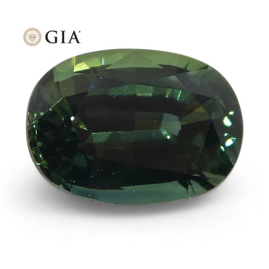 1.17ct Oval Teal Blue Sapphire GIA Certified Australian Unheated - Skyjems Wholesale Gemstones