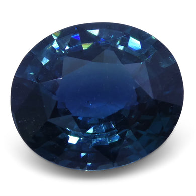 2.79 ct Oval Natural Sapphire GIA Certified Australian Unheated