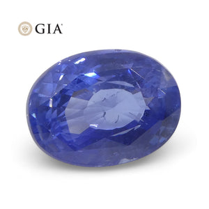3.10 ct Oval Sapphire GIA Certified Sri Lanka Unheated - Skyjems Wholesale Gemstones