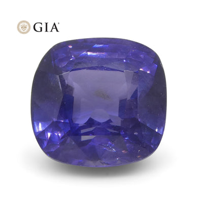 Color Change Sapphire 2.13 cts 6.83 x 6.56 x 4.82 mm Cushion Violet changing to Purple  $2000