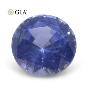 0.98 ct Round Sapphire GIA Certified Burma (Myanmar) Unheated - Skyjems Wholesale Gemstones