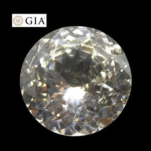1.84 ct Round White Sapphire GIA Certified - Skyjems Wholesale Gemstones