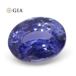 2.5 ct Oval Color Change Sapphire GIA Certified Unheated Sri Lanka