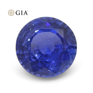 1.1 ct Round Blue Sapphire GIA Certified Sri Lanka - Skyjems Wholesale Gemstones