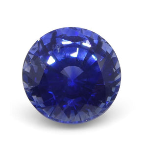 1.33 ct Round Blue Sapphire GIA Certified Sri Lanka - Skyjems Wholesale Gemstones