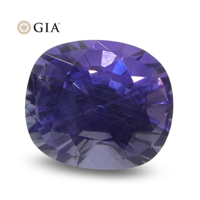 Color Change Sapphire 1.56 cts 6.89 x 5.99 x 4.66 mm Oval Bluish Violet changing to Purple  $2050