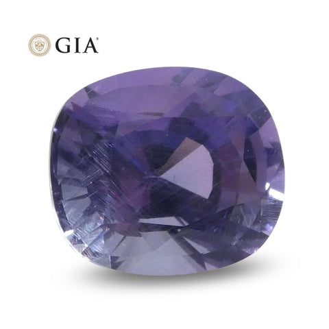 1.56ct Oval Color Change Sapphire GIA Certified Sri Lanka Unheated
